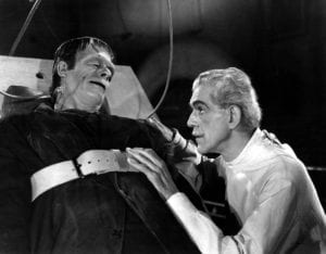 Dr. Frankenstein and The Monster