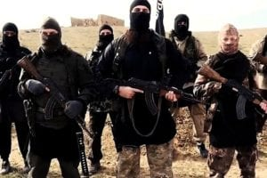 Armed ISIS terrorists