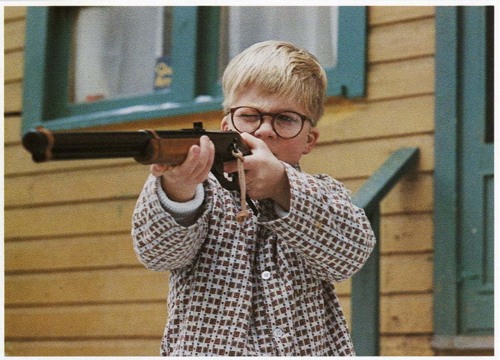 Ralphie and His Red Ryder