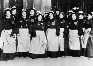 Turn-of-the-Century Nurses as Suffragettes