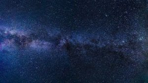 Photo of the Milky Way galaxy