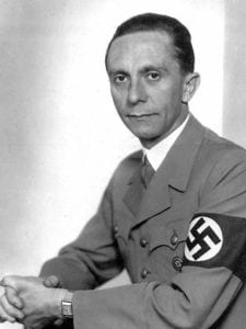 Photo of Josef Goebbels