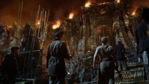 Photo of the wall in the movie King Kong