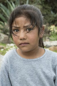 Photo of immigrant girl