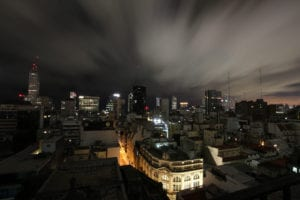 Photo of Buenos Aires at night