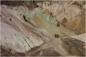 Photo of hikers in Death Valley