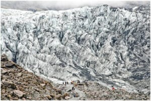 Photo of Fox Glacier in New Zealand