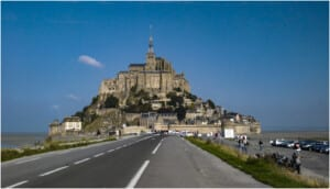 Photo of France's Mont-Saint-Michel