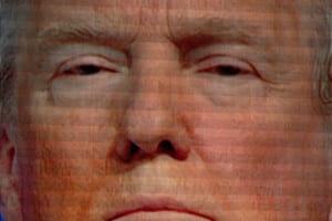 Facial photo of Donald Trump